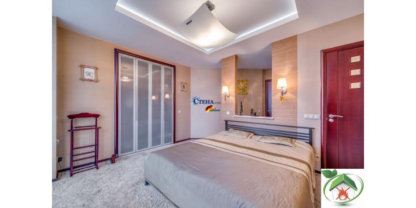 Стеклообои в интерьере разных комнат