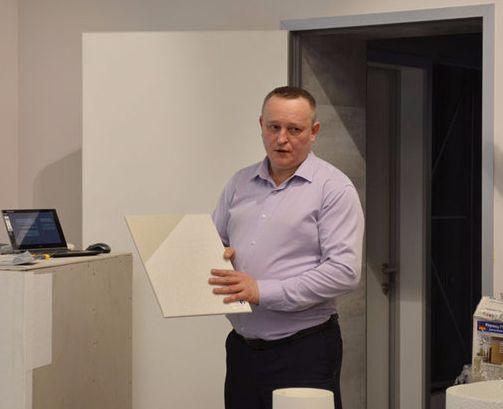 Семинар в г.  Красноярск на тему: «ВИТРУЛАН - новые технологии в отделке стен и потолков для экономии времени, и средств»