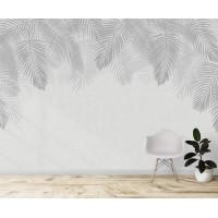 Пальмовые листья, S1074, размер 388х270 см