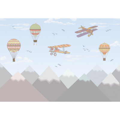 Самолеты, S1084, размер 388х270см