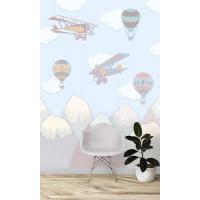 Воздушные шары, S1092, размер 194х270см