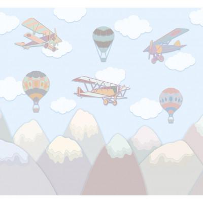 Воздушные шары, S1093, размер 291х270см