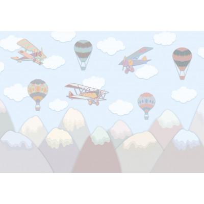Воздушные шары, S1094, размер 388х270 см