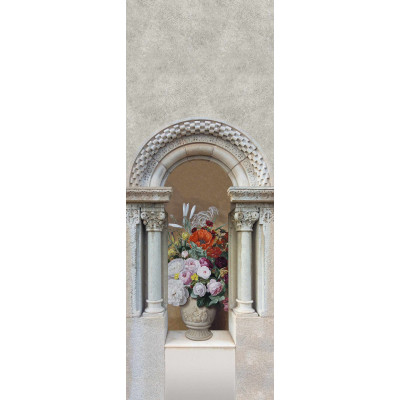 Цветы в вазе, S1141, размер 97х270 см