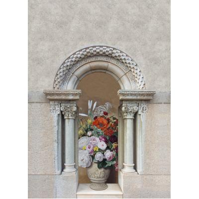 Цветы в вазе, S1142, размер 194х270 см
