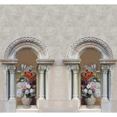 Цветы в вазах, S1143, размер 291х270 см