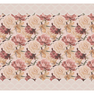 Розы, S1153, размер 291х270 см