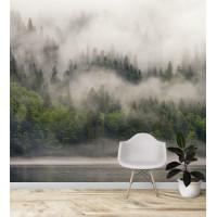 Лес в тумане, S1173, размер 291х270 см